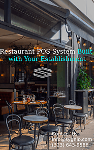 Restaurant POS System Built with Your Establishment in Mind