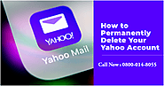 Easy Steps For Permanently Delete Yahoo Email Account – Contact Support