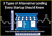 3 Types of Alternative Lending Every Startup Should Know