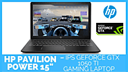 HP Pavilion power 15