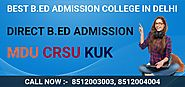 Best B.ed Course Admission Collage Delhi 2020-2021- Kapoor study circle