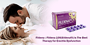 Buy Fildena: Fildena 100(Sildenafil) is The Best Therapy for Erectile Dysfunction – Meds 4 Care | Online Generic Pills
