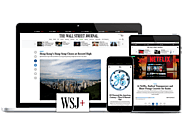 What makes the Wall Street Journal a Top Print Medium today in the United States
