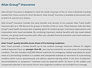 Atlas Group Insurance for Five and More | Visitors Insurance