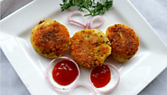 Chenna and Peas Tikki | Yummy Kids recipe | Zedua.com