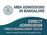 How to apply for merit basis for mba in Bangalore?
