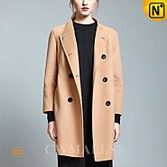 CWMALLS® Womens Double Face Wool Pea Coat CW652200