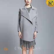 CWMALLS® Double Face Wool Asymmetrical Coat CW652206
