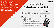 Formula to Calculate EMI and Advantages of EMI Calculator - Ziploan Blog