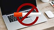 Apple have a 'no smoking' ban regarding their computers, which means if you smoke while using an Apple computer, you ...