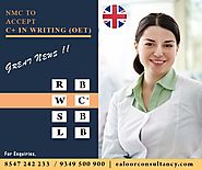 NMC Reduces OET Writing Score for Nurses - Best Study Abroad Consultancy in Kottayam, Kerala - Ealoor Academy & Consu...
