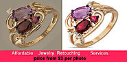 Jewelry Retouching services, Photoshop service best quality