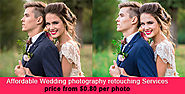 Wedding photography editing services, Online Photo retouching services