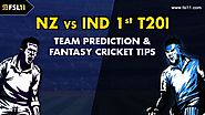 India vs New Zealand 1st T20I Match Prediction, Playing XI Updates & Fantasy Cricket Tips | Ind vs Nz 1st T20I - Fsl1...