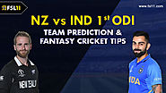 New Zealand vs India 1st ODI: Match Preview, Pitch Report, Weather Report, Probable Line-ups and Match Prediction