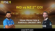 New Zealand vs India 2nd ODI: Match Preview, Pitch Report, Weather Report, Probable Line-ups and Match Prediction