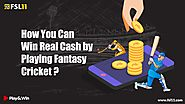 How You Can Win Real Cash by Playing Fantasy Cricket? - Fsl11 Blog