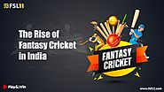 The Rise of Fantasy Cricket in India - Fsl11 Blog