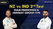 New Zealand vs India 2nd Test: Match Preview, Pitch Report, Weather Report, Probable Line-ups, and Match Prediction