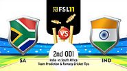 India vs SouthAfrica 2nd ODI: Match Preview, Pitch Report, Weather Forecast, Probable Lineups and Match Prediction