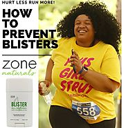 Know How to Prevent Blisters When Running – Zone Naturals
