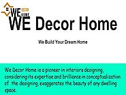 Best Interior Designer in Noida - We Decor Home |authorSTREAM