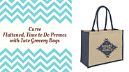 Curve Flattened, Time to Do Promos with Jute Grocery Bags – Telegraph