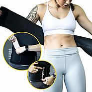 Waist Trainer Workout Belt - Sweat Belt | GosweatZone