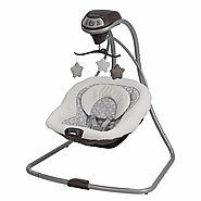 Graco Simple Sway Baby Swing, Abbington Review