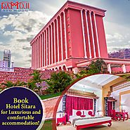Ramoji is home to some of the best accommodations in Hyderabad. Sitara Luxury Hotel,Tara Comfort Hotel, & Sahara Shar...