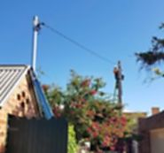 Private Poles - Real Electrical Solutions Newcastle