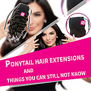 Ponytail hair extensions and things you can still not know • Beequeenhair Blog