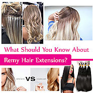 All You Need To Know About Remy Human Hair Extensions
