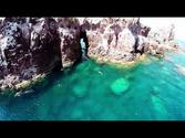 Aerial Video DJI Phantom Mexico gopro hero 3 (Isla Espiritu Santo) La Paz, Baja California Sur