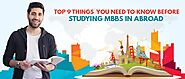 Disadvantages of Studying MBBS Abroad