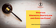 What is a Wrongful Death claim and Survival Claim?