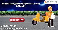 Late Night Cake Delivery in Mohali