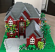 This Woman Builds Incredibly Detailed Replicas Of People's Houses Out Of LEGO | DeMilked - Just LoL Pictures