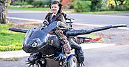 Dad Makes Wonderful Halloween Costumes For Children In Wheelchairs - Just LoL Pictures