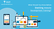 5 Things to Consider Before Starting a Website Development Training Course