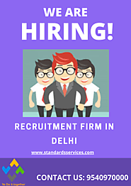 Recrutiment Firm in Delhi