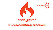 CodeIgniter Interview Questions and Answers | InterviewGIG