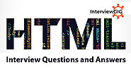 HTML Interview Questions and Answers | InterviewGIG