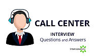Call Center Interview Questions & Answers | InterviewGIG