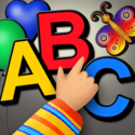 ABC Magnetic Alphabet: make and read words!