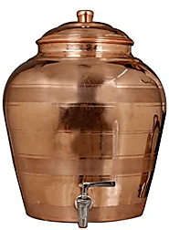Purchase Copper Water Pot with tap online at discounted price @ashtok.com