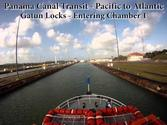Panama Canal Time Lapse - Full Transit From the Pacific Ocean to the Atlantic