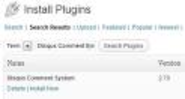 WordPress › Disqus Comment System « WordPress Plugins