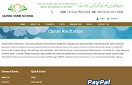 Learn Quran Online -Learn Quran Recitaion| Quran Home School