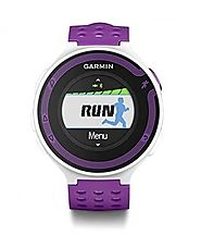 Garmin Forerunner 220 GPS Watch without HR Monitor-White Violet